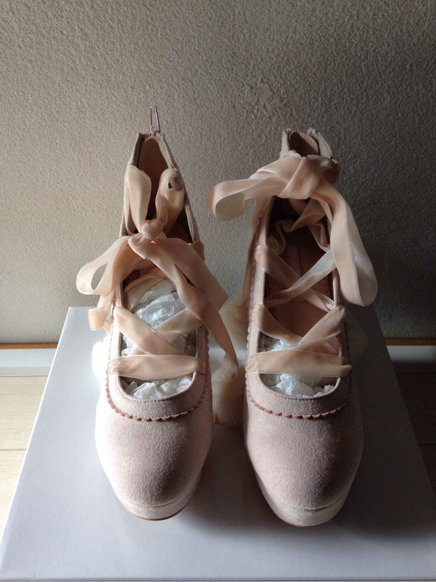 55f16f1be LIZ LISA】pre-owned Pink Pom-pom Pumps Shoes 0297 – You and Me JAPAN